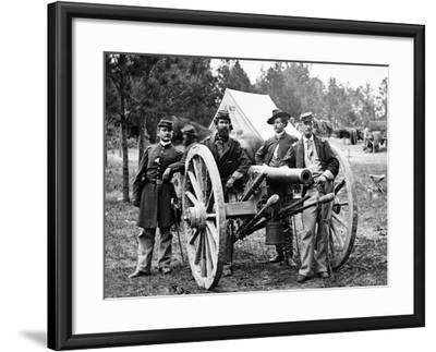 Civil War: Union Officers-James F^ Gibson-Framed Photographic Print