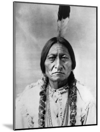 Sitting Bull (1834-1890)--Mounted Photographic Print