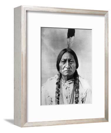 Sitting Bull (1834-1890)--Framed Photographic Print