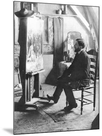 Piet Mondrian (1872-1944)--Mounted Photographic Print