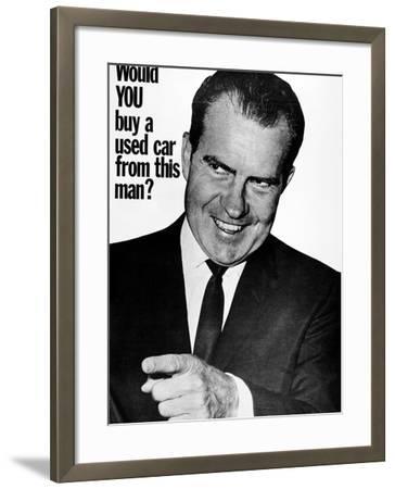 Anti-Nixon Poster, 1960--Framed Photographic Print