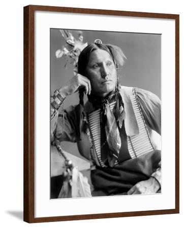 Sioux Native American, C1900-Gertrude Kasebier-Framed Photographic Print