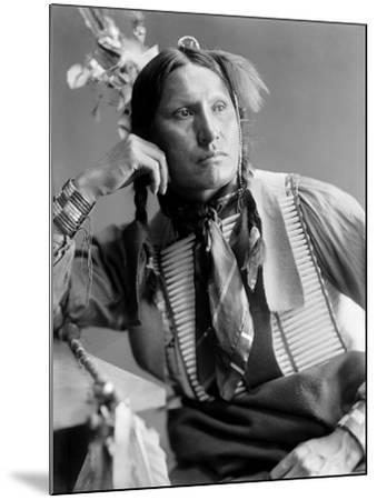 Sioux Native American, C1900-Gertrude Kasebier-Mounted Photographic Print
