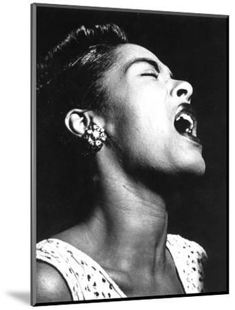 Billie Holiday (1915-1959)--Mounted Photographic Print
