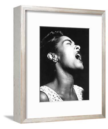 Billie Holiday (1915-1959)--Framed Photographic Print