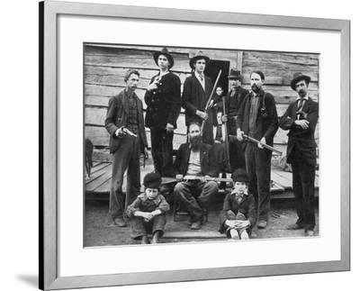 The Hatfields, 1899--Framed Photographic Print