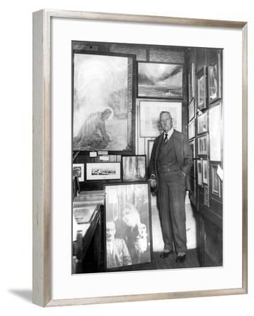 Arthur Conan Doyle--Framed Photographic Print