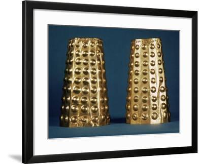 Ecuador: Gold Cuffs--Framed Photographic Print