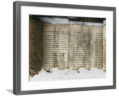 Dead Sea Scroll--Framed Photographic Print