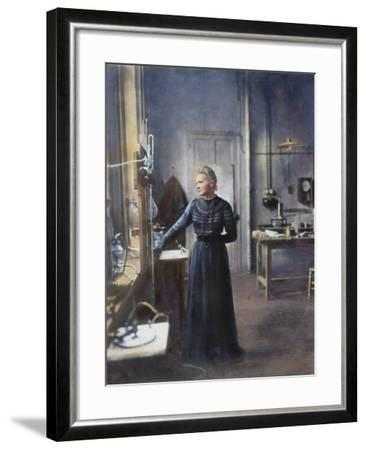 Marie Curie (1867-1934)--Framed Photographic Print
