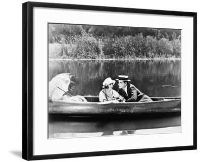 Silent Film Still: Couples--Framed Photographic Print