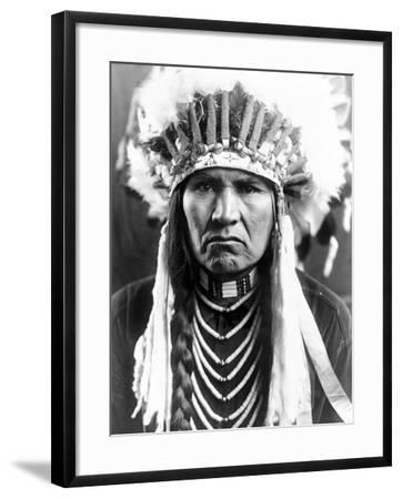 Nez Perce Native American-Edward S^ Curtis-Framed Photographic Print