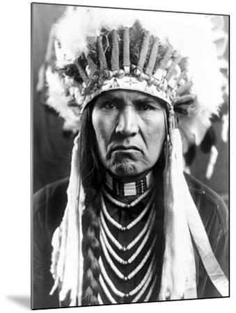 Nez Perce Native American-Edward S^ Curtis-Mounted Photographic Print