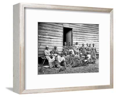 Civil War: Freed Slaves--Framed Photographic Print