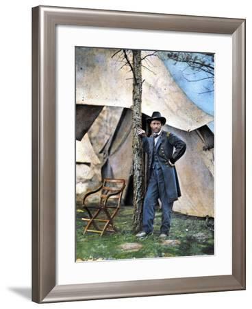 Ulysses S. Grant--Framed Photographic Print