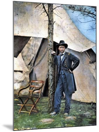 Ulysses S. Grant--Mounted Photographic Print