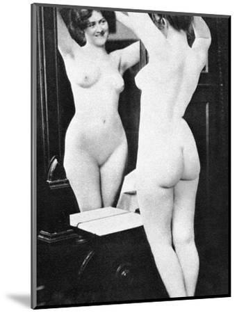 Nude And Mirror, 1902-Fritz W. Guerin-Mounted Photographic Print