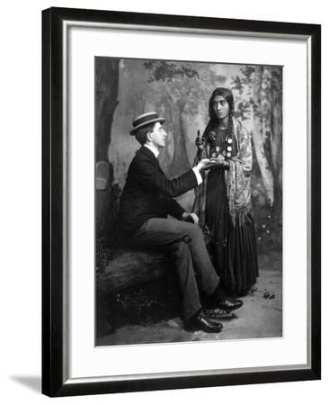 Palm-Reading, C1910--Framed Photographic Print