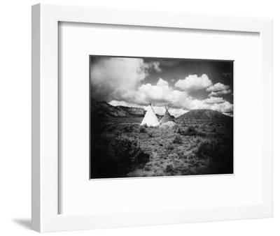Apache Tepees, C1909--Framed Photographic Print