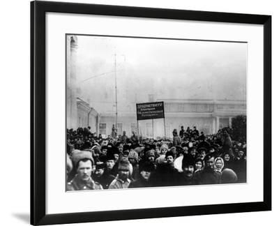 Russian Revolution, 1917--Framed Photographic Print