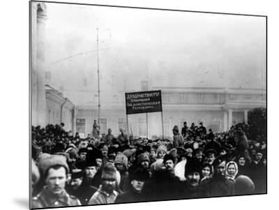 Russian Revolution, 1917--Mounted Photographic Print
