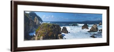 Rugged Coast in Point Lobos State Park, CAlifornia-Anna Miller-Framed Photographic Print