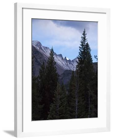 View of Moutains Near Bear Lake in Rocky Mountain National Park-Anna Miller-Framed Photographic Print