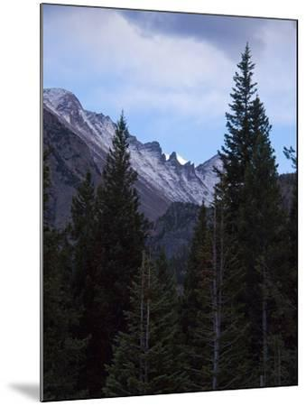 View of Moutains Near Bear Lake in Rocky Mountain National Park-Anna Miller-Mounted Photographic Print
