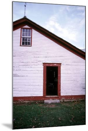 Old farmhouse in rural Indiana, USA-Anna Miller-Mounted Photographic Print