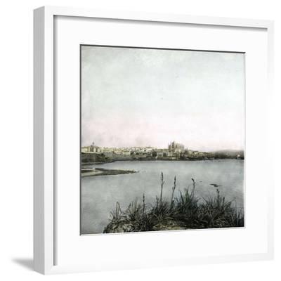 Palma (Island of Majorca, Balearics, Spain), Panorama, Circa 1895-Leon, Levy et Fils-Framed Photographic Print