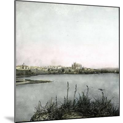 Palma (Island of Majorca, Balearics, Spain), Panorama, Circa 1895-Leon, Levy et Fils-Mounted Photographic Print