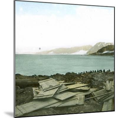Spitsbergen, Andree Expedition to the North Pole, Departure of the Balloon, July 11, 1897, 2H30-Leon, Levy et Fils-Mounted Photographic Print