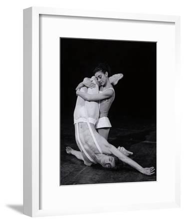 Rudolf Nureyev and Margot Fonteyn in Paradise Lost, England-Anthony Crickmay-Framed Photographic Print
