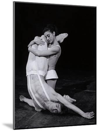 Rudolf Nureyev and Margot Fonteyn in Paradise Lost, England-Anthony Crickmay-Mounted Photographic Print