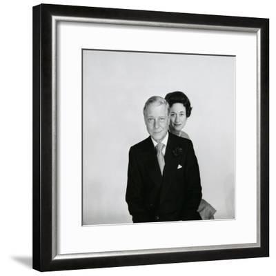 Duke and Duchess of Windsor-Cecil Beaton-Framed Photographic Print