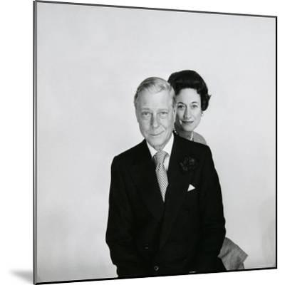 Duke and Duchess of Windsor-Cecil Beaton-Mounted Photographic Print