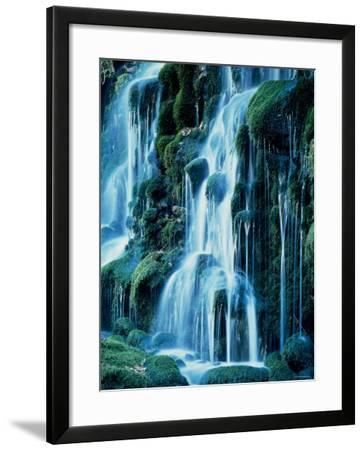 Waterfalls--Framed Photographic Print