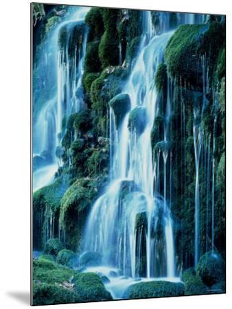 Waterfalls--Mounted Photographic Print