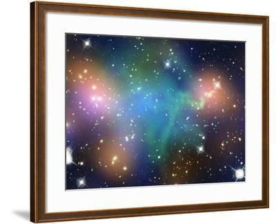 SAO: Abell 520--Framed Photographic Print