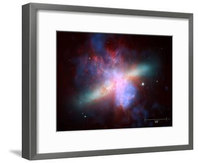 m82 scale--Framed Photographic Print