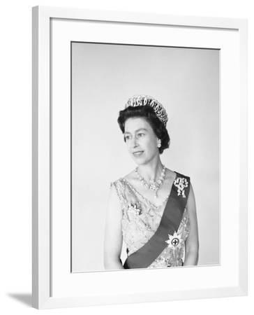Elizabeth II, Born 21 April 1926-Cecil Beaton-Framed Photographic Print