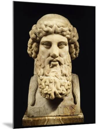 Plato, Greek Philosopher--Mounted Photographic Print