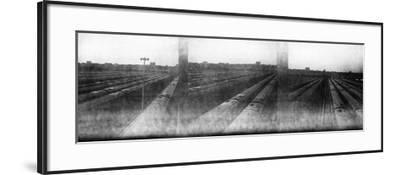 Train Yard Triptych-Evan Morris Cohen-Framed Photographic Print