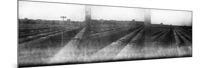 Train Yard Triptych-Evan Morris Cohen-Mounted Photographic Print