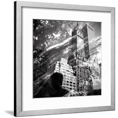 Central Park Double-Evan Morris Cohen-Framed Photographic Print
