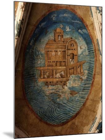 Noah's Ark, Fresco, 1562, Tecamachalco, Puebla, Mexico-Juan Gerson-Mounted Photographic Print