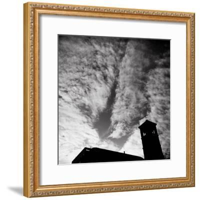 Jusdon and Clouds-Evan Morris Cohen-Framed Photographic Print