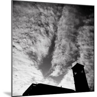 Jusdon and Clouds-Evan Morris Cohen-Mounted Photographic Print
