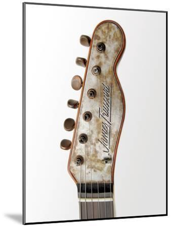 Billy F. Gibbons Custom Guitar-David Perry-Mounted Photographic Print