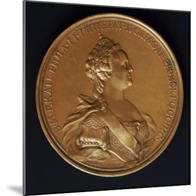 Catherine the Great, Commomoration Coin by Ivanoff--Mounted Photographic Print